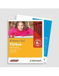 Dörtrenk Yayınları 6. Sınıf RD Grinova Türkçe Soru Bankası