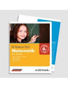 Dörtrenk Yayınları 6. Sınıf RD Grinova Matematik Soru Bankası
