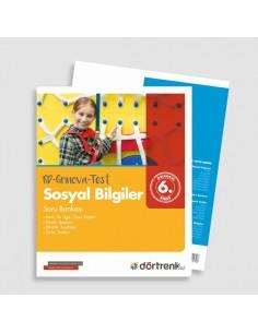 Dörtrenk Yayınları 6. Sınıf RD Grinova Sosyal Bilgiler Soru Bankası