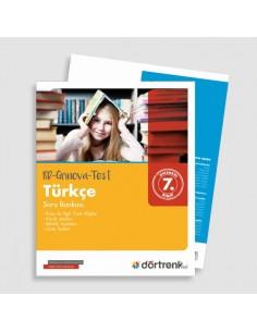 Dörtrenk Yayınları 7.Sınıf RD Grinova Türkçe Soru Bankası