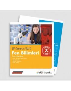Dörtrenk Yayınları 7.Sınıf RD Grinova Fen Bilimleri Soru Bankası