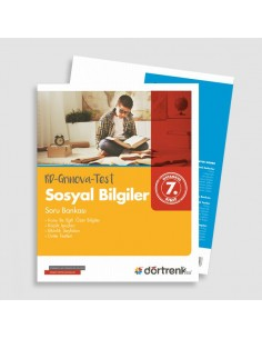 Dörtrenk Yayınları 7.Sınıf RD Grinova Sosyal Bilgiler Soru Bankası