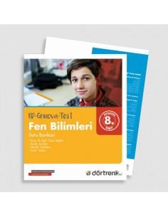 Dörtrenk Yayınları 8.Sınıf RD Grinova Fen Bilimleri Soru Bankası