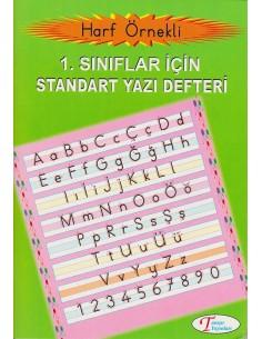 Tanışır Yayınları 1.Sınıf Standart Yazı Defteri
