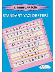 Tanışır Yayınları 1.Sınıf Harf Örnekli Standart Yazı Defteri