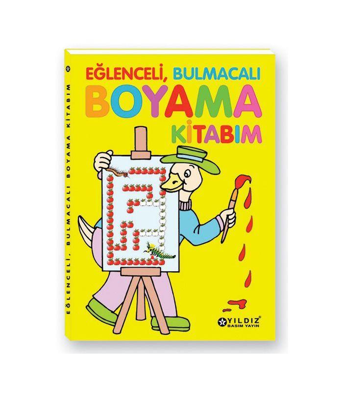 Yıldız Yayınları Eğlenceli Bulmacalı Boyama Kitabı
