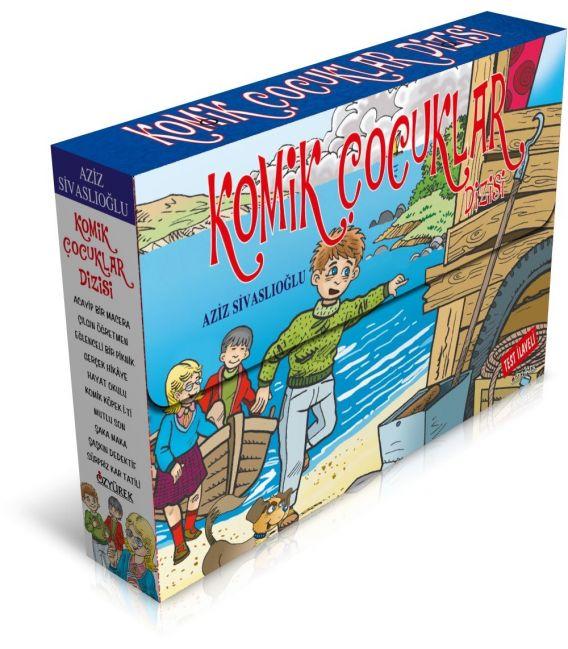 Özyürek Yayınları Komik Çocuklar Dizisi (10 Kitap)
