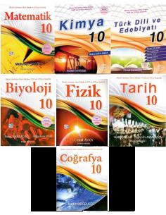 Palme Yayınları 10.Sınıf Konu Anlatım Tam Set