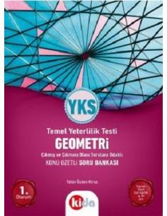 Kida Yayınları YKS Geometri 1.Oturum Konu Özetli Soru Bankası