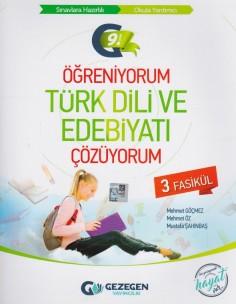 Gezegen Yayıncılık 9. Sınıf Öğreniyorum Türk Dili ve Edebiyatı Çözüyorum 3 Fasikül