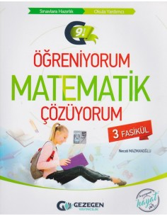 Gezegen Yayıncılık 9. Sınıf Öğreniyorum Matematik  3 Fasikül