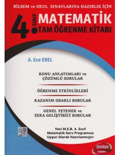 Çankaya Yayıncılık 4. Sınıf Matematik Tam Öğrenme Kitabı