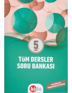 Kida Eğitim Yayınları 5.Sınıf Tüm Dersler Soru Bankası