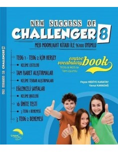 Lingus Education Jolly English Challenger Course Book&Vocabulary Book