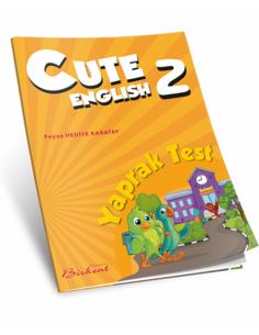 Birkent Yayınları Ingilizce Cute 2 Yaprak Test