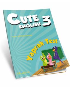 Birkent Yayınları Ingilizce Cute 3 Yaprak Test