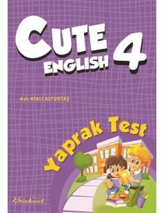 Birkent Yayınları Cute English Yaprak Test 4 2017