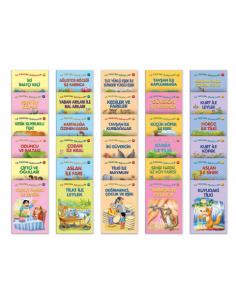 Yıldız Yayınları La Fonten Masalları Serisi (20 Kitap)