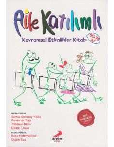 Erdem Yayınları Okul Öncesi Aile Katılımlı Kavramsal Etkinlik Kitabı (60 Ay ve Üstü)