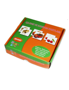 Yuka Kids Yayınları 2 Yaş ve Üzeri Eşleşme ve Kavram Kartları