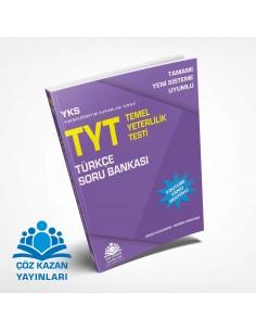 Çöz Kazan Yayınları YKS TYT Türkçe Soru Bankası