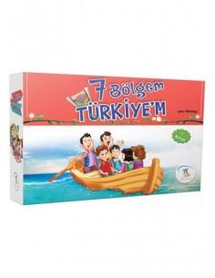 5 Renk Yayınları 7 Bölgem Türkiyem Hikaye Seti