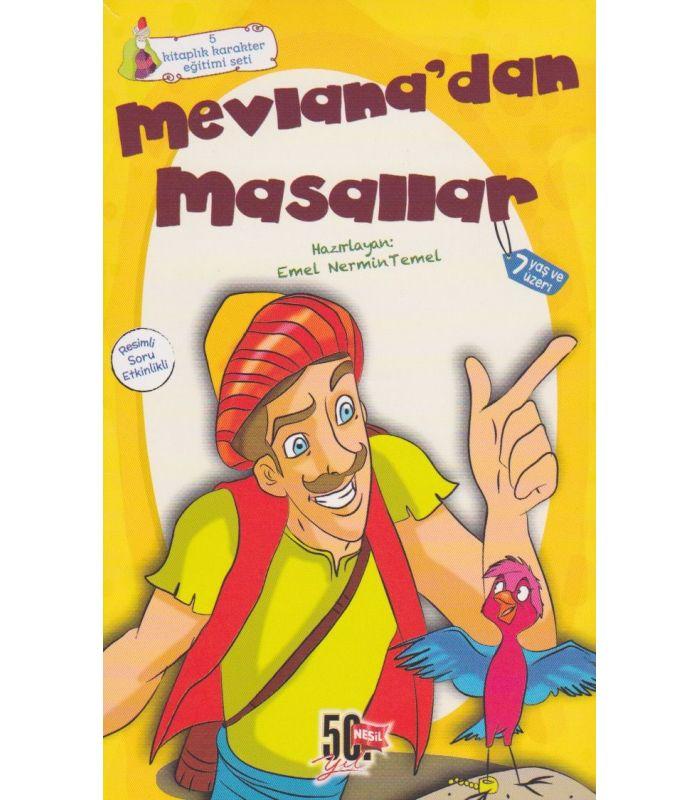 Mevlanadan Masallar Hikaye Seti 5 Kitap Nesil çocuk Yayınları