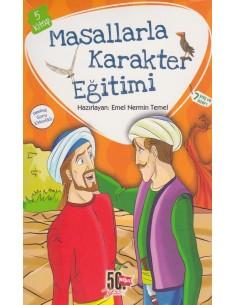 Nesil Çocuk Yayınları Masallarla Karakter Eğitimi Seti (5 Kitap)