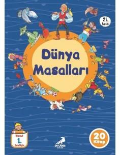 Erdem Yayınları 1.Sınıf Dünya Masalları Hikaye Seti (20 Kitap)