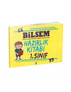 Zeki Çocuk 1. Sınıf BİLSEM Hazırlık Kitabı
