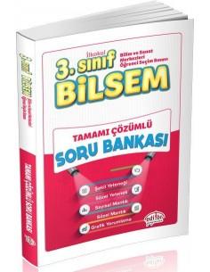 Editör Yayınları 3.Sınıf BİLSEM Tamamı Çözümlü Soru Kitabı
