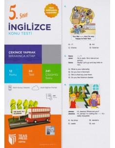 Teas Press 5. Sınıf İngilizce Konu Testi