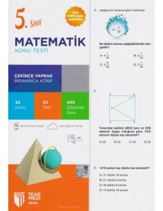 Teas Press 5. Sınıf Matematik Konu Testi