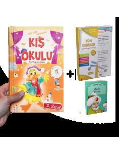 5 Renk Yayınları Kampanyalı Yarıyıl Tatil Seti (2. Sınıf)