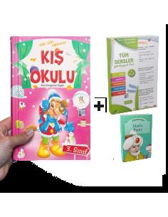 5 Renk Yayınları Kampanyalı Yarıyıl Tatil Seti (3. Sınıf)
