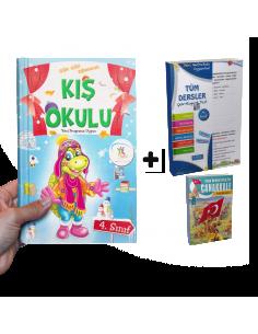 5 Renk Yayınları Kampanyalı Yarıyıl Tatil Seti (4. Sınıf)
