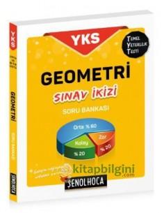 Şenol Hoca Yayınları YKS TYT Geometri Sınav İkizi Soru Bankası
