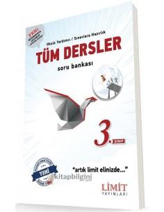 Limit Yayınları 3. Sınıf Tüm Dersler Soru Bankası