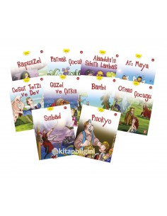 Timaş Yayınları Dünya Masalları Hikaye Seti 2 (10 Kitap)
