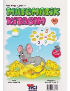 Açı Yayınları Fare Fırça Kuyrukla Matematik - Çizgi Kitabım (+48Ay)