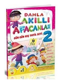 Damla Yayınları Akıllı Afacanlar Kış Tatil Seti (2. Sınıf)