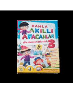 Damla Yayınları Akıllı Afacanlar Kış Tatil Seti (3. Sınıf)