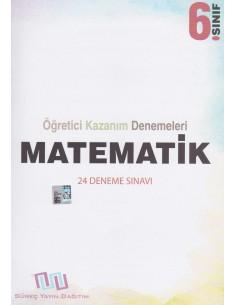 Süreç Yayınları 6. Sınıf Matematik 24'lü Öğretici Kazanım Denemeleri