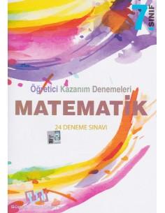 Süreç Yayınları 7. Sınıf Matematik 24'lü Öğretici Kazanım Denemeleri
