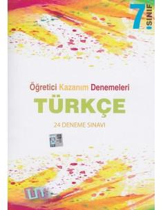 Süreç Yayınları 7. Sınıf Türkçe 24'lü Öğretici Kazanım Denemeleri