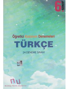 Süreç Yayınları 6. Sınıf Türkçe 24'lü Öğretici Kazanım Denemeleri