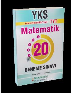 Palme Yayınları YKS TYT Matematik 20 Deneme Sınavı