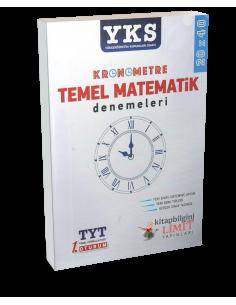 Limit Yayınları YKS 1. Oturum TYT  Kronometre Temel Matematik Denemeleri (20x40)