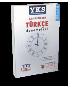 Limit Yayınları YKS 1. Oturum TYT Kronometre Türkçe Denemeleri (20x40)