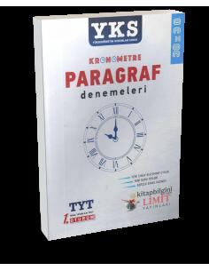 Limit Yayınları YKS 1. Oturum TYT Kronometre Paragraf Denemeleri (30x30)